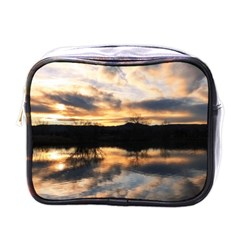 Sun Reflected On Lake Mini Toiletries Bags by trendistuff