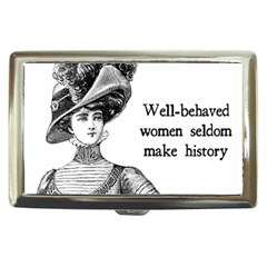 Well Behaved Women Seldom Make History Cigarette Money Cases by waywardmuse