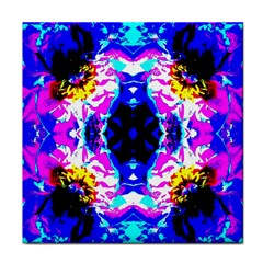 Animal Design Abstract Blue, Pink, Black Face Towel