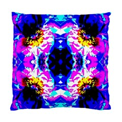Animal Design Abstract Blue, Pink, Black Standard Cushion Cases (two Sides)