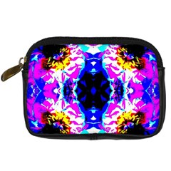 Animal Design Abstract Blue, Pink, Black Digital Camera Cases