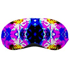 Animal Design Abstract Blue, Pink, Black Sleeping Masks