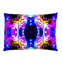 Animal Design Abstract Blue, Pink, Black Pillow Cases (two Sides) by Costasonlineshop