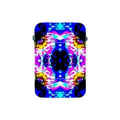 Animal Design Abstract Blue, Pink, Black Apple Ipad Mini Protective Soft Cases by Costasonlineshop