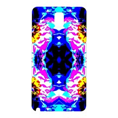 Animal Design Abstract Blue, Pink, Black Samsung Galaxy Note 3 N9005 Hardshell Back Case