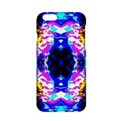 Animal Design Abstract Blue, Pink, Black Apple Iphone 6/6s Hardshell Case by Costasonlineshop