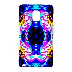 Animal Design Abstract Blue, Pink, Black Galaxy Note Edge by Costasonlineshop