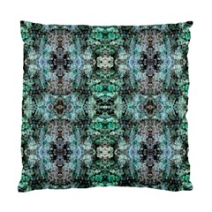 Green Black Gothic Pattern Standard Cushion Case (one Side)  by Costasonlineshop