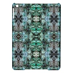 Green Black Gothic Pattern Ipad Air Hardshell Cases by Costasonlineshop