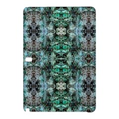 Green Black Gothic Pattern Samsung Galaxy Tab Pro 10 1 Hardshell Case by Costasonlineshop