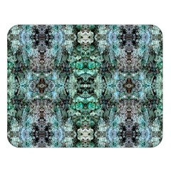 Green Black Gothic Pattern Double Sided Flano Blanket (large)  by Costasonlineshop
