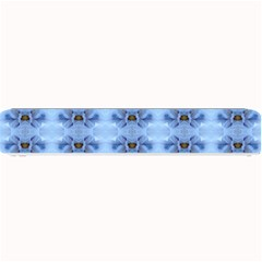 Pastel Blue Flower Pattern Small Bar Mats by Costasonlineshop