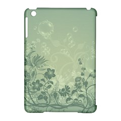 Wonderful Flowers In Soft Green Colors Apple Ipad Mini Hardshell Case (compatible With Smart Cover) by FantasyWorld7