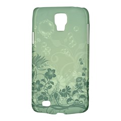 Wonderful Flowers In Soft Green Colors Galaxy S4 Active by FantasyWorld7