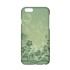 Wonderful Flowers In Soft Green Colors Apple Iphone 6/6s Hardshell Case by FantasyWorld7