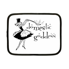Domestic Goddess Netbook Case (small)  by waywardmuse