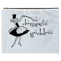 Domestic Goddess Cosmetic Bag (xxxl)