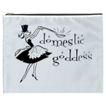 Domestic Goddess Cosmetic Bag (XXXL)  Front