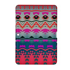 Waves And Other Shapes			samsung Galaxy Tab 2 (10 1 ) P5100 Hardshell Case by LalyLauraFLM
