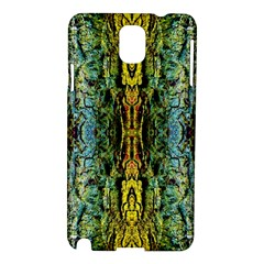 Abstract, Yellow Green, Purple, Tree Trunk Samsung Galaxy Note 3 N9005 Hardshell Case by Costasonlineshop