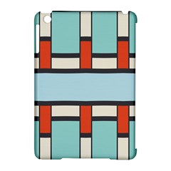 Vertical And Horizontal Rectangles			apple Ipad Mini Hardshell Case (compatible With Smart Cover) by LalyLauraFLM