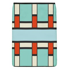 Vertical And Horizontal Rectangles			removable Flap Cover (l) by LalyLauraFLM