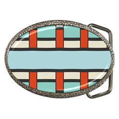 Vertical And Horizontal Rectangles			belt Buckle by LalyLauraFLM