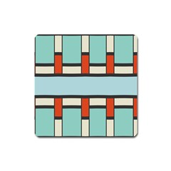 Vertical And Horizontal Rectangles			magnet (square) by LalyLauraFLM