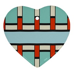 Vertical And Horizontal Rectangles			ornament (heart) by LalyLauraFLM