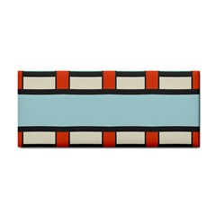 Vertical And Horizontal Rectangles			hand Towel by LalyLauraFLM