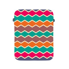 Colorful Chevrons Pattern			apple Ipad 2/3/4 Protective Soft Case by LalyLauraFLM