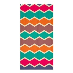 Colorful Chevrons Pattern	shower Curtain 36  X 72  by LalyLauraFLM