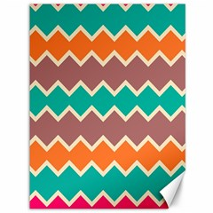Colorful Chevrons Pattern			canvas 36  X 48
