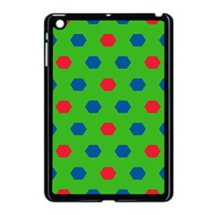Honeycombs Pattern			apple Ipad Mini Case (black) by LalyLauraFLM
