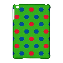 Honeycombs Pattern			apple Ipad Mini Hardshell Case (compatible With Smart Cover) by LalyLauraFLM