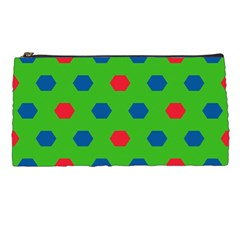 Honeycombs Pattern 	pencil Case by LalyLauraFLM