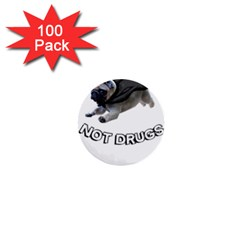 Do Pugs 1  Mini Buttons (100 Pack)