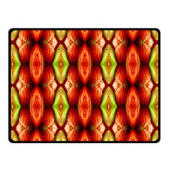 Melons Pattern Abstract Fleece Blanket (small) by Costasonlineshop
