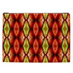 Melons Pattern Abstract Cosmetic Bag (xxl)  by Costasonlineshop
