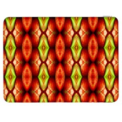Melons Pattern Abstract Samsung Galaxy Tab 7  P1000 Flip Case by Costasonlineshop
