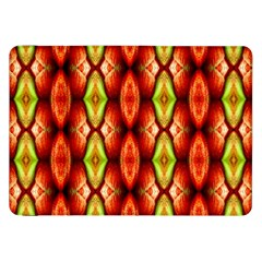 Melons Pattern Abstract Samsung Galaxy Tab 8 9  P7300 Flip Case by Costasonlineshop