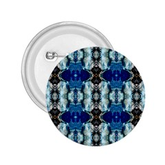 Royal Blue Abstract Pattern 2 25  Buttons by Costasonlineshop