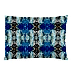 Royal Blue Abstract Pattern Pillow Cases by Costasonlineshop