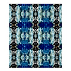 Royal Blue Abstract Pattern Shower Curtain 60  X 72  (medium)  by Costasonlineshop