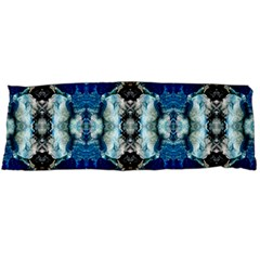 Royal Blue Abstract Pattern Body Pillow Cases (dakimakura)  by Costasonlineshop