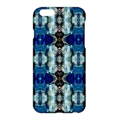 Royal Blue Abstract Pattern Apple Iphone 6 Plus/6s Plus Hardshell Case by Costasonlineshop