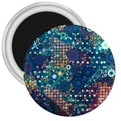 Blue Bubbles 3  Magnets by KirstenStar