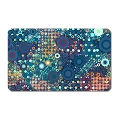 Blue Bubbles Magnet (rectangular) by KirstenStar