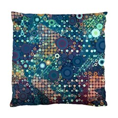 Blue Bubbles Standard Cushion Cases (two Sides)  by KirstenStar