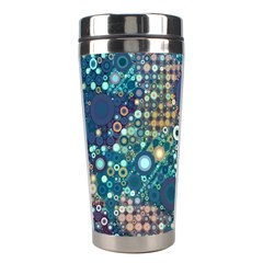 Blue Bubbles Stainless Steel Travel Tumblers by KirstenStar